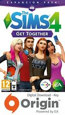 THE SIMS 4 GET TOGETHER EXPANSION PACK PC AND MAC ORIGIN KEY