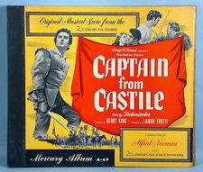 1947 Tyrone Power Captain from Castile 78rpm Soundtrack Album Mercury Records