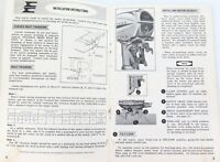 SCARCE 1968 EVINRUDE OUTBOARD MOTOR OWNER MANUAL. SKI TWIN MODELS 33802-33803.