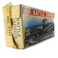 1980's Tim Mee Toy Co. Giant BATTLE CARRIER Aircraft Toy Floating Wheels Plastic