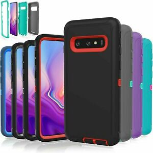 Heavy Duty Rugged Builder Shockproof Military Case for Samsung S10 5G/S10E S9 S8