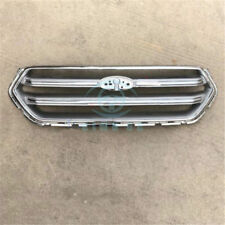 Chrome Auto Front Bumper Middle Bumer Grille Cover Trim Fit For Ford Escape 2017