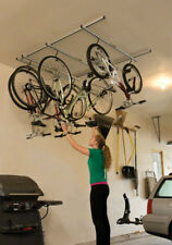New Saris Cycle-Glide Ceiling Mount 4-Bike Storage Silver