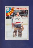 Jim Bedard RC 1978-79 O-PEE-CHEE OPC Hockey #243 (NM) Washington Capitals