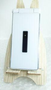 SHARP AQUOS KEITAI SH-06G DOCOMO SIM unlocked Android Flip Phone white japan