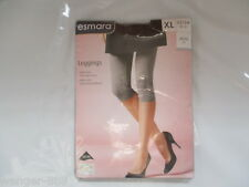 Esmara Leggings Grey Size XL 22/24 EUR 48/50  Cotton New In Pack