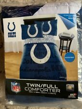 Nfl Indianapolis Colts Twin/Full Comforter 72 inches × 86 inches
