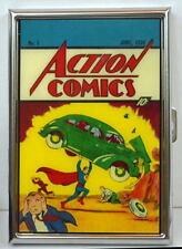 ACTION COMICS #1 Full Color CIGARETTE CASE Reflective Metal MIB / UNUSED