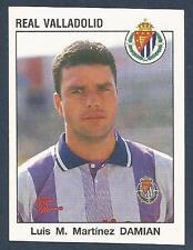 PANINI FUTBOL 93-94 SPANISH -#337-REAL VALLADOLID-LUIS M MARTINEZ DAMIAN
