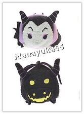 Disney Japan Tsum Tsum  Maleficent ,Dragon From 3rd Anniversary
