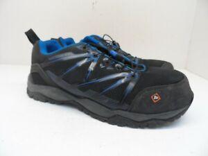 Merrell Men's Fullbench Superlite Alloy Toe Work Shoe Black/Blue Size 8.5M