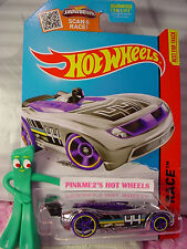 Case D 2015 Hot Wheels Battle Spec #157∞Chrome;purple;44∠žRace Team∞Super Chromes