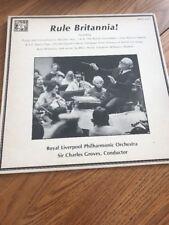 CLASSICAL LP RULE BRITANNIA ROYAL LIVERPOOL PHILHARMONIC ORCHESTRA GROVES