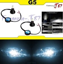 LED Kit G5 48W H1 6000K White Two Bulbs Head Light Replacement High Beam Lamp OE