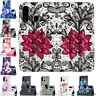For Samsung Galaxy A20e A30 A40 A50 A70 Flip Painted Leather Wallet Case Cover