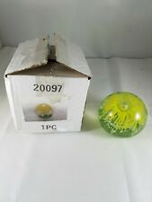 SPI Home Products Yellow Flower Round Paper Weight 2.5# Home Decor Desk 20097