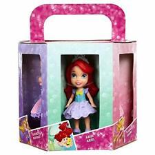 Disney Princess 6 Mini Doll Pack Ariel Aurora Rapunzel Merida Cinderella & Belle