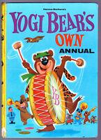 YOGI BEAR'S OWN ANNUAL 1965 Hardback Vintage Book