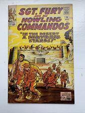 Sgt. Fury and his Howling Commandos #16 7.0+ Several Pics!