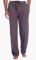 Saddlebred - NWT - Mens M - Black/Red/White Plaid Flannel Cotton Sleep Pants