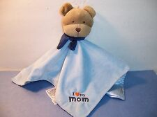 SECURITY BLANKET CARTER'S - CHILD OF MINE - BEAR - I LOVE MY MOM - RATTLE - VGC