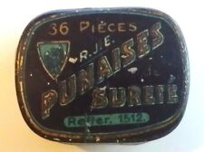 PG056 - Gramophone PUNAISES SURETÉ scatolina per puntine da grammofono VUOTA