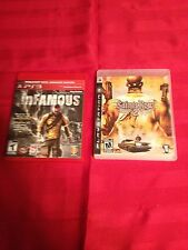 Infamous & Saints Row 2- Ps3 L@@K