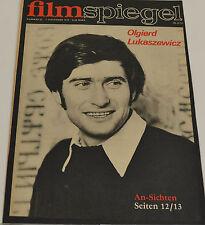 FILMSPIEGEL 7.NOVEMBER 1973 - OLGIERD LUKASZEWICZ (FS 170)