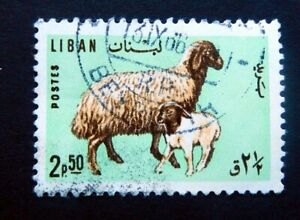 Lebanon Stamps 1965/  Animals.  / Used