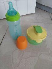 TUPPERWARE biberon bébé et doseur à lait
