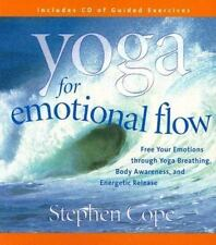 Yoga for Emotional Flow by Stephen Cope (2003, CD, Unabridged) Factory Sealed!