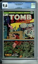 TOMB OF DARKNESS #9 CGC 9.6 WHITE PAGES **1 OF 2 !! - HIGHEST GRADED** 1st ISSUE