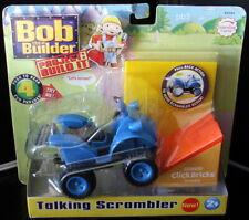Bob the Builder Project Build It TALKING SCRAMBLER Click Bricks Pull Back Action