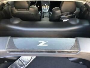 carbon fiber rear strut bar cover for Nissan 350Z