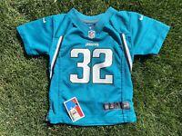 Maurice Jones-Drew Jacksonville Jaguars NFL Toddler Jersey Nike size 3T Teal