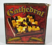 Cathedral Medieval Game Strategy and Skill Puzzle Wooden Complete Wood