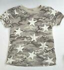 Little Boy (sz5) Epic Threads Desert Camo Short Sleeve T-Shirt with Stars