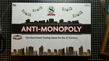 Anti - Monopoly 2009 Board Game New Sealed Ages 8 And Up