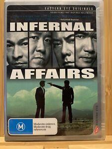 Infernal Affairs - Eastern Eye Original (DVD, 2003) Region 4 Rare