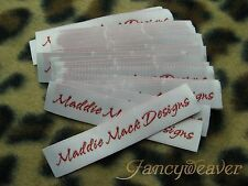 1200 Personal Custom Woven Label ( Damask Quality) for Handmade, Clothing, Tee