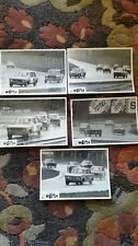FOLDER 5 PHOTO PRESS ORIGINALI COPPA PIEMONTE 10/5/1970 FIAT 128/125 RENAULT