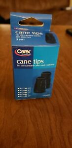 Carex Cane Tips 7/8 Inch A719-00  (Pack of 2)