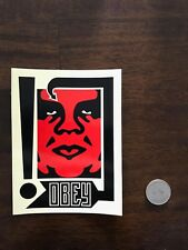 """SHEPARD FAIREY Obey Giant RED ANDRE THE GIANT Sticker 4 X 5"""""""