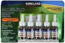 Spray De Propionato De Fluticasona Glucocorticoide Aller Flo De Kirkland