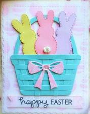 Easter Bunny Cutting Dies Rabbit Molder Stencil Card Making Tool Decor Accessory