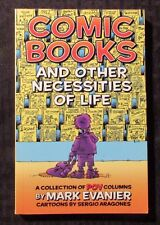 2002 COMIC BOOKS And Other Necessities of Life by Evanier & Aragones SC VF 8.0