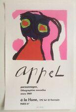 KAREL APPEL  - AFFICHE LITHO 1969