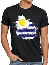 Uruguay T-Shirt Herren Fußball Sport WM EM Fahne National-Flagge Fan-Artikel