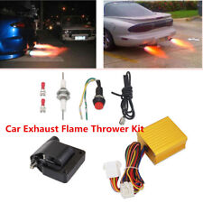12V Car Exhaust Flame Thrower Kit Professional Fire Burner Accessories Afterburn