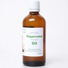 100% Pure 100ml Organic Undiluted Peppermint Essential Oil Suani Aroma Therapy